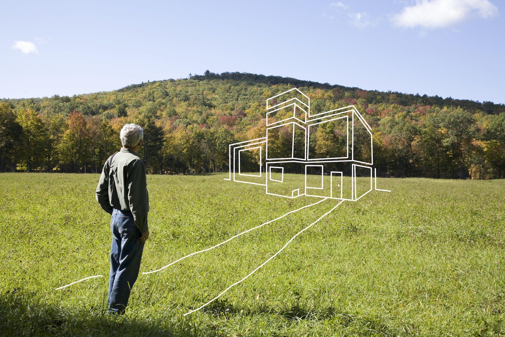 как измерить сотку земли шагами