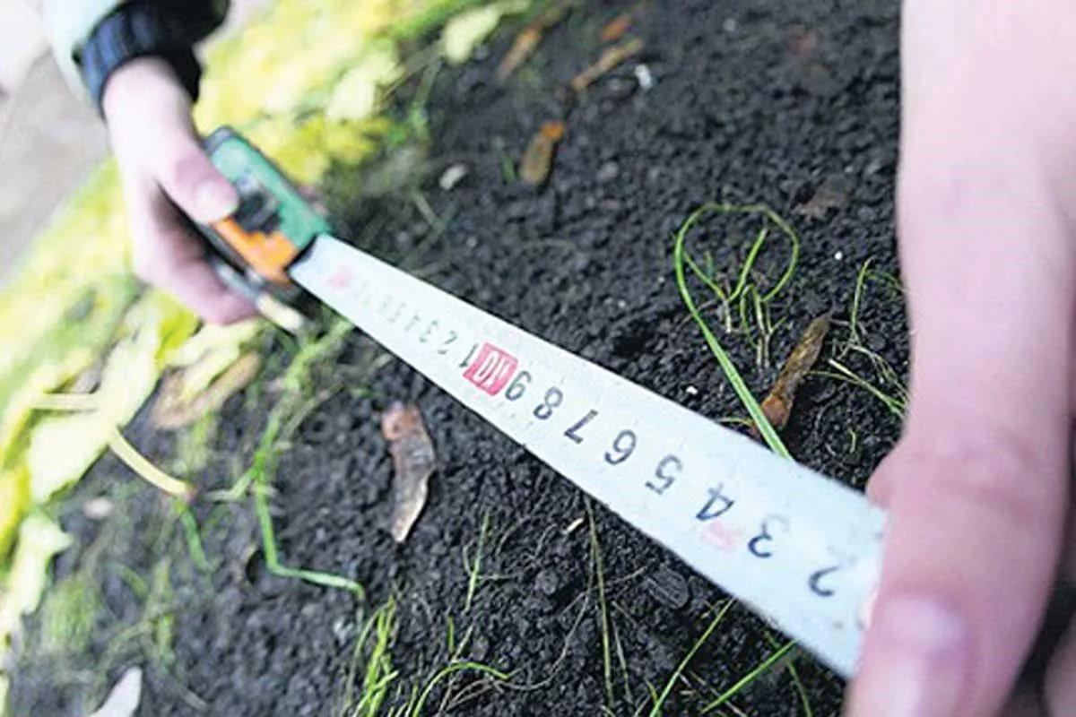 как измерить сотку в метрах